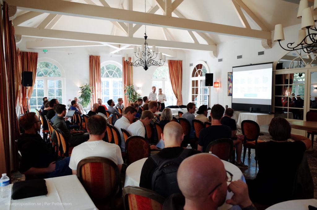 Curamando i Frankrike på konferens